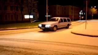 getlinkyoutube.com-Volvo 740 TURBO snow fun