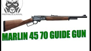 getlinkyoutube.com-Marlin 45-70 Guide Gun vs Mosin Nagant!!!