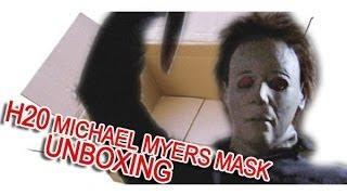 getlinkyoutube.com-Michael Myers mask SSN H20 V2 Ben Fallaize UNBOXING