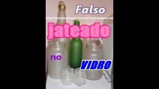 getlinkyoutube.com-Falso jateado  em vidro  e plástico...