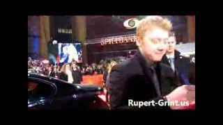 RG.us Exclusive: Rupert Grint Berlinale Red Carpet 3