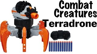 getlinkyoutube.com-NERF Combat Creatures Terradrone Unboxing and Review