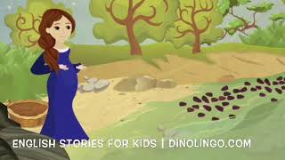 The woman and the Angel - English stories and Books for Kids