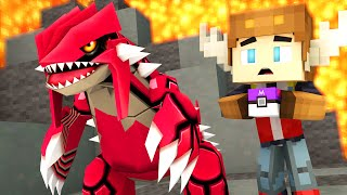getlinkyoutube.com-CATCHING GROUDON IN POKEMON GO! (Minecraft Roleplay)