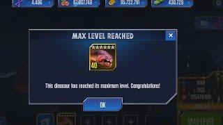 getlinkyoutube.com-DUNKLEOSTEUS Level 40 Jurassic World The Game