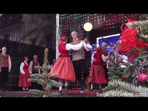 Прибалтийские танцы, Таллин / Tallinn, Estonia/Eesti dance