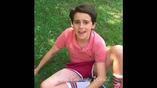 Jack D Grazer pretending to be a YouTuber