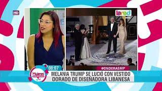 getlinkyoutube.com-Los mejores vestidos en la lujosa gala de Donald Trump