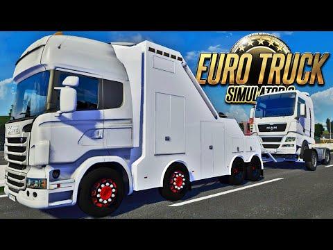 Guinchando Caminhões - Euro Truck Simulator 2