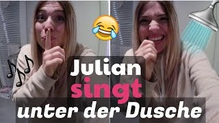 getlinkyoutube.com-JULIAN SINGT unter der Dusche ( heimlich gefilmt ) 😏😂 | BibisBeautyPalace