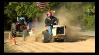getlinkyoutube.com-Pro Stock diesel Cub Cadet pulling at Millheim, Pa