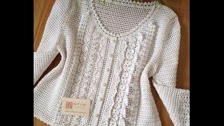 getlinkyoutube.com-Crochet Patterns| for |chunky crochet cardigan pattern free| 1157