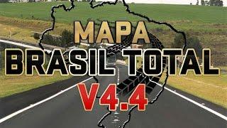 getlinkyoutube.com-DOWNLOAD MAPA BRASIL TOTAL 4.4, Euro Truck Simulator 2