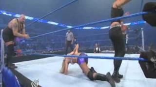 getlinkyoutube.com-Straight Edge Sociey vs. The Big Show and Kelly Kelly (SmackDown 08 20 2010)