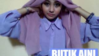 getlinkyoutube.com-Tutorial Hijab 1 paris segi empat