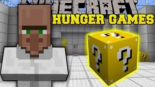 Minecraft: TRAYAURUS LAB HUNGER GAMES - Lucky Block Mod - Modded Mini-Game