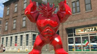 getlinkyoutube.com-LEGO Marvel Super Heroes - Red Groot Free Roam Gameplay (PS4)