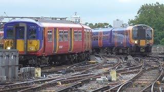 getlinkyoutube.com-Trains at London Waterloo   20/08/2015
