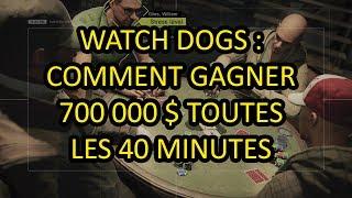 getlinkyoutube.com-[TUTO WATCH DOGS] Comment gagner 700 000 $ au poker en 40 min.