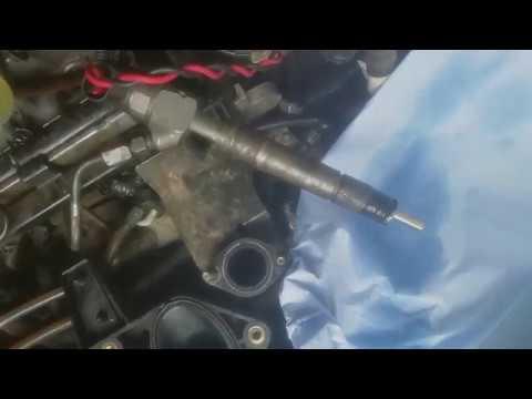 Тест отремонтированной форсунки CDI 0445110106 Mercedes Benz Vito 638