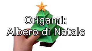 getlinkyoutube.com-Origami: Albero di Natale (facile)