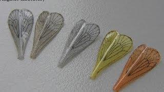 ©Изготовление реалистичного крыла для мушки - Ручейника. Manufacturing wing to fly caddis .