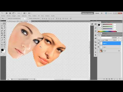 Cómo Cambiar de Cara  a una Persona - Video Tutorial de Photoshop
