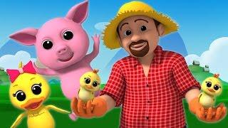 getlinkyoutube.com-Luke & Lily - Old Macdonald | Nursery Rhymes | Kids songs | Children's songs