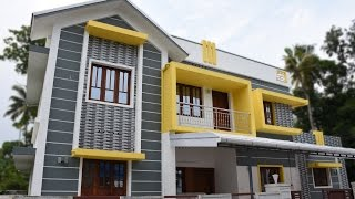 getlinkyoutube.com-Aluva, 4.3 cents plot and 1550 sq ft, stylish villa for sale in Aluva near CIAL