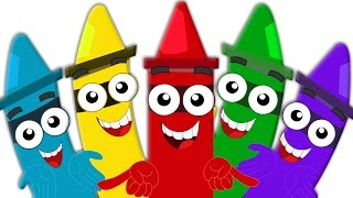 getlinkyoutube.com-Crayons Color Song | Learn Colors for Babies And Kids | Colors for Children And Toddlers