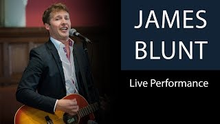 James Blunt   You're Beautiful   Live Performance at Oxford Union