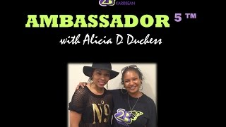 Ambassador 5 || Alicia D Duchess|| A beauty in charge of her beats