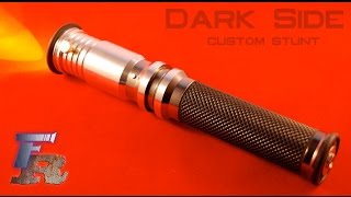getlinkyoutube.com-Force Relics Dark Side custom stunt saber