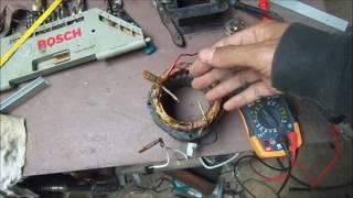 getlinkyoutube.com-Motor de tanquinho quando não é capacitor pode ser bobina isolada