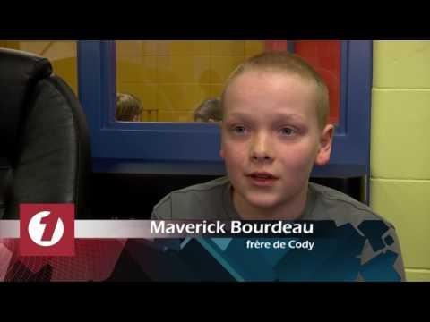 Beaucoup d'amour pour le petit Cody à l'Île d'Orléans