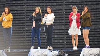 [4k Fancam/직캠]1510010 에이프릴 (April) - 꿈사탕 리허설@MBC 프라임 축제