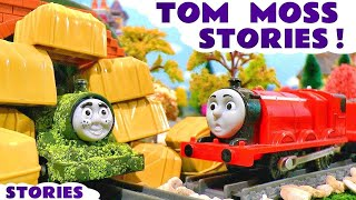 getlinkyoutube.com-Thomas and Friends Toy Trains Pranks with naughty Tom Moss Minions and Lego Scooby Doo TT4U