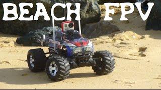 getlinkyoutube.com-BEACH FPV N°2 - TRAXXAS RC CAR STAMPEDE - LONG RANGE