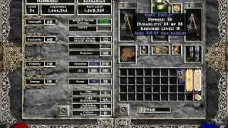 getlinkyoutube.com-Diablo 2 - How to Kill Duriel with the Barbarian (NO town portals, NO merc)