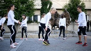 getlinkyoutube.com-Jump Rope Team - Hungary's Best Rope Skipping Team
