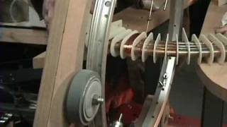 getlinkyoutube.com-#5 EPG Coil Winder, How It Works And Wrapping The Fist EPG Test Coil. Home Maid Troid Winder