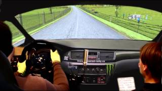 getlinkyoutube.com-Real rally Stage. Real Co-driver. Home racing simulator. (montage!)