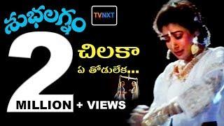 Chilaka Ye Thodu Leka Video Song    Subhalagnam Movie    Jagapathi Babu, Aamani, Roja    TVNXT