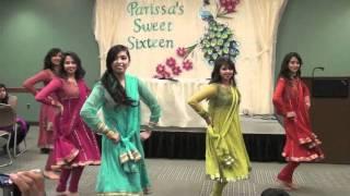 getlinkyoutube.com-Chamak Challo and Marjaani Dance Medley at Parissa's Sweet Sixteen