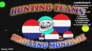 getlinkyoutube.com-♥AGARIO♥  Destroying ,Trolling & Splitting Teams + Funny Moments Montage! [2]