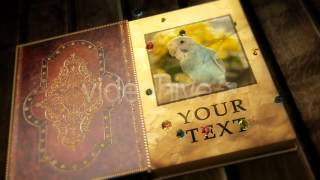 Videohive after effects project file - Magical Open Book
