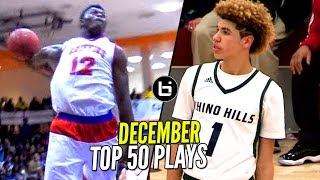 getlinkyoutube.com-LaMelo Ball & Zion Williamson Show TAKES OVER! Top 50 Plays of December!