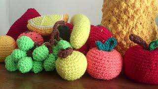 getlinkyoutube.com-Frutas a crochet