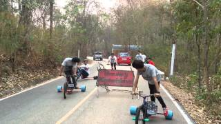 getlinkyoutube.com-K6F on tour CNX funny drift trike thx Donjai