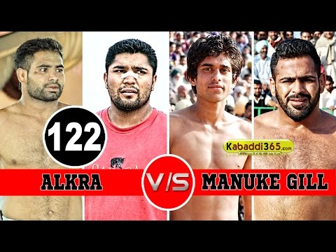 Alkra Vs Manuke Gill Final Match in Hamirgarh (Bathinda) By Kabaddi365.com